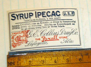 Syrup epicac