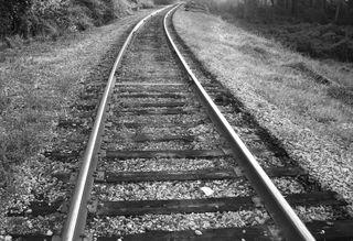 Rr tracks b&w