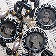 Combination dial necklaces