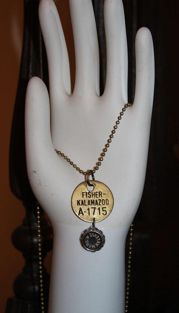 Brass tag