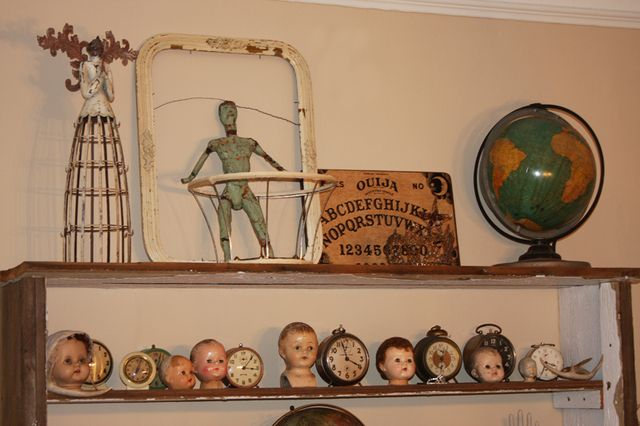 Doll head collection and other favorites